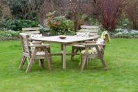 Abbey Square Table 4 Chair Set