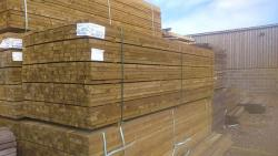Sawn Treated Softwood Fence Rails