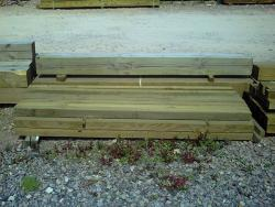 "Treated Timber 3"" x 3"" Posts"