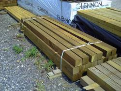 "Treated Timber 4"" x 4"" Posts"
