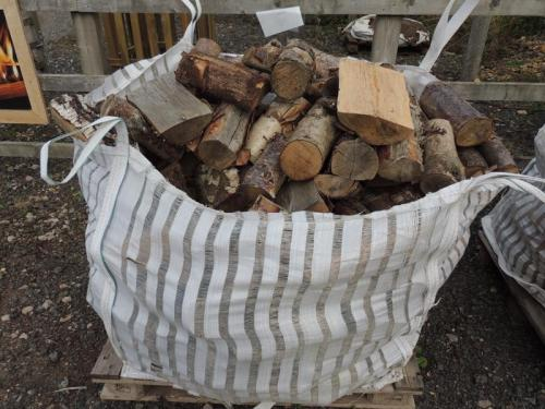 Unseasoned Hardwood Logs Bulk Bag